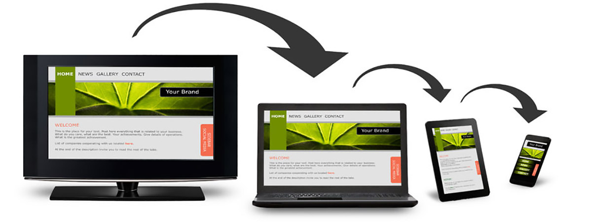 Creation site internet responsive